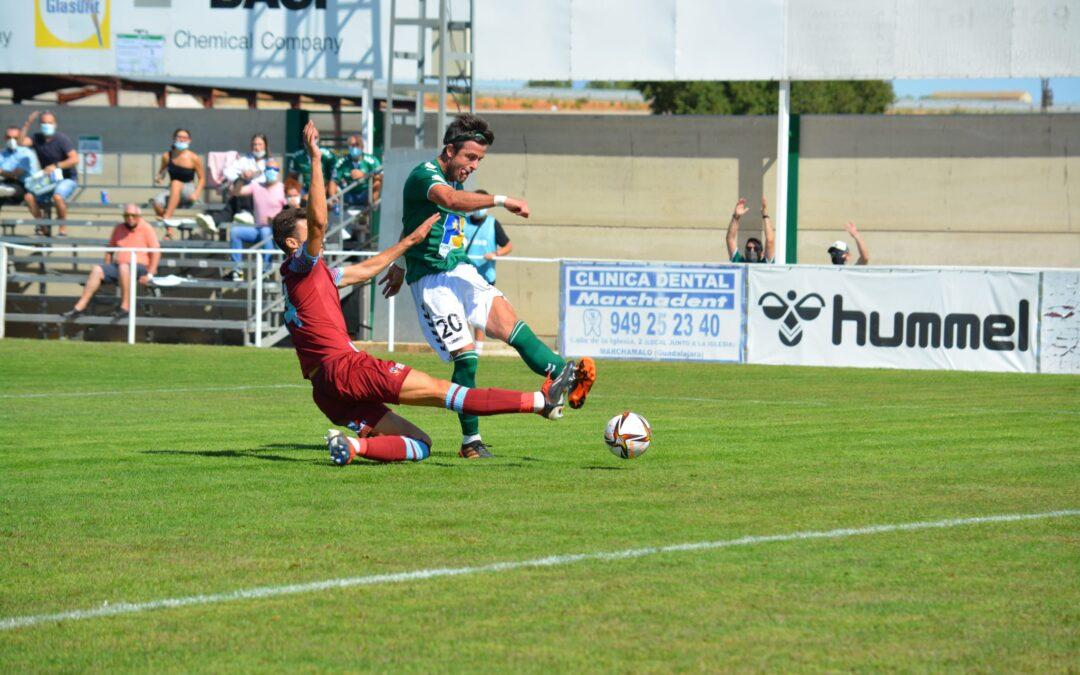 Al CD Marchamalo se le escapa el gol en nuestro primer partido en Segunda RFEF en La Solana