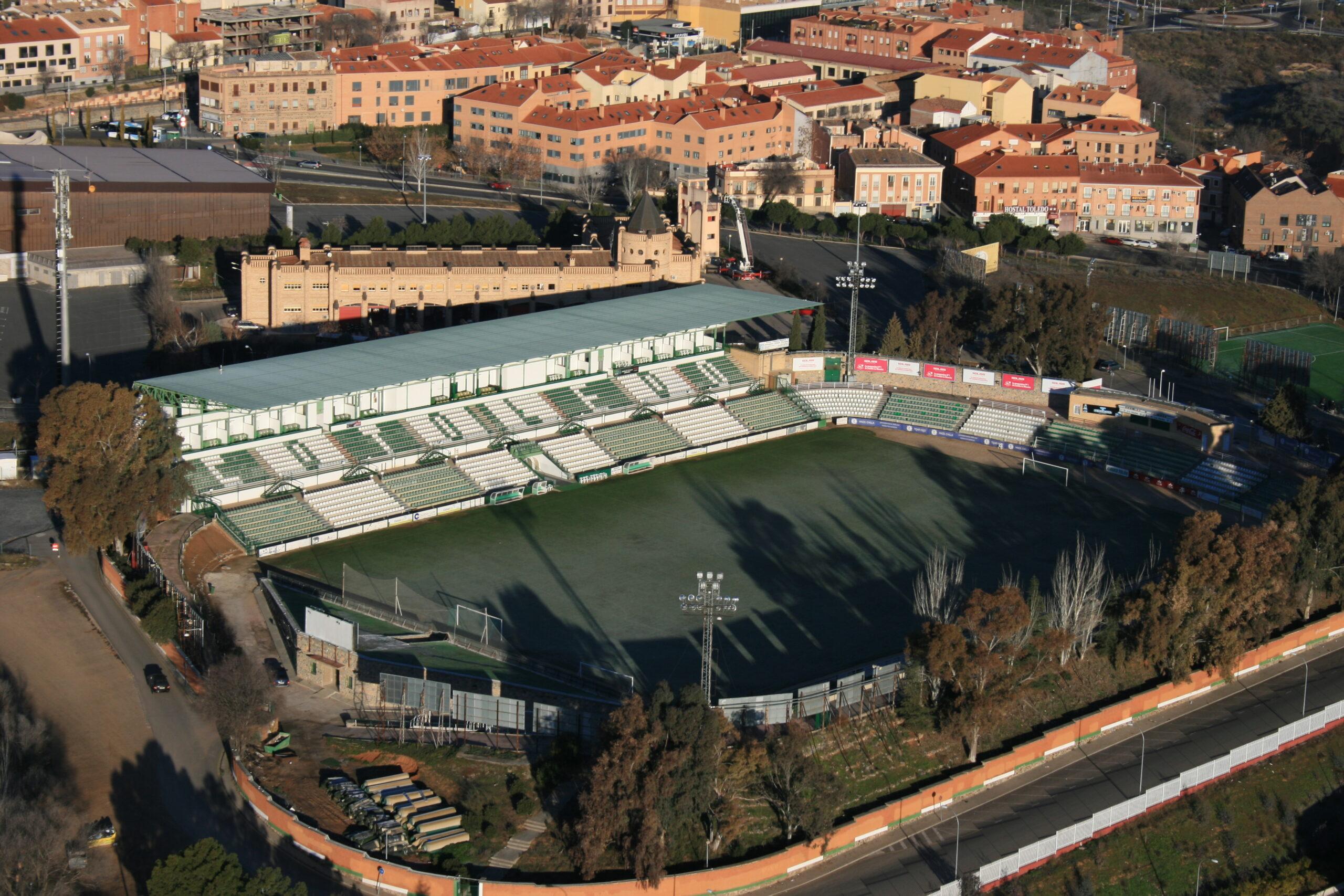 El CD Toledo: un histórico del fútbol castellano-manchego que juega en un campo en el que Luis Aragonés anotó el primer gol